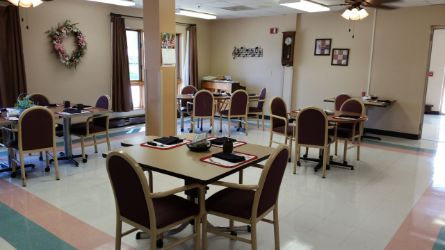 Tripoli Nursing and Rehab - Dining Room